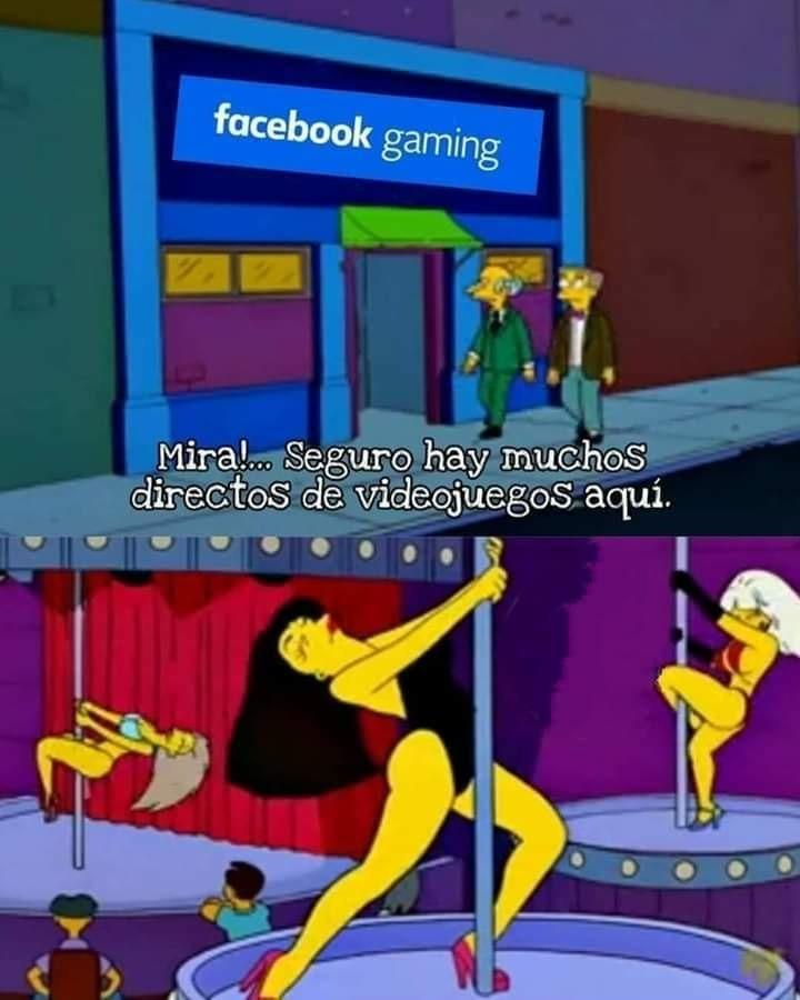Facebook Gaming se parece al canal Historia, o a MTV...
