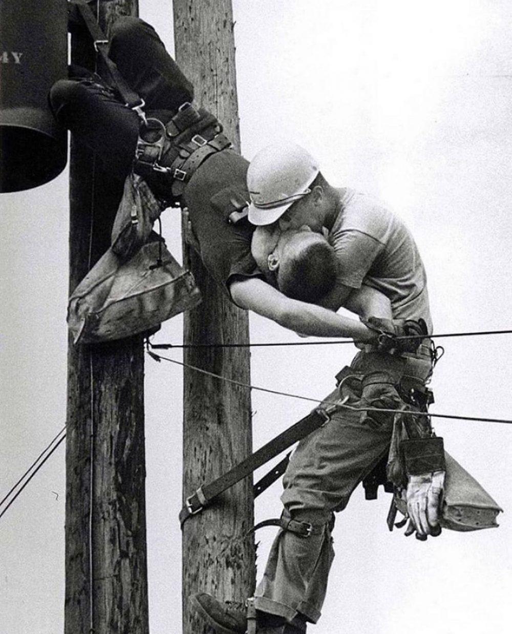 Rocco Morabito ganó con esta fotografía el premio Pulitzer en 1968
