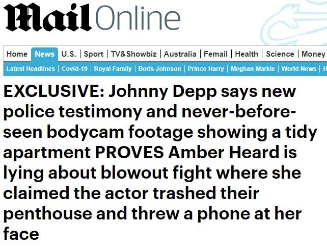 Pillan a Amber Heard mintiendo otra vez sobre la relación que tuvo con su ex, Johnny Depp