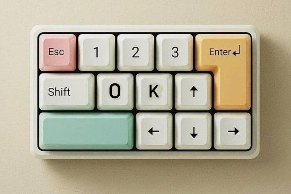 El teclado de WhatsApp de mi madre.
