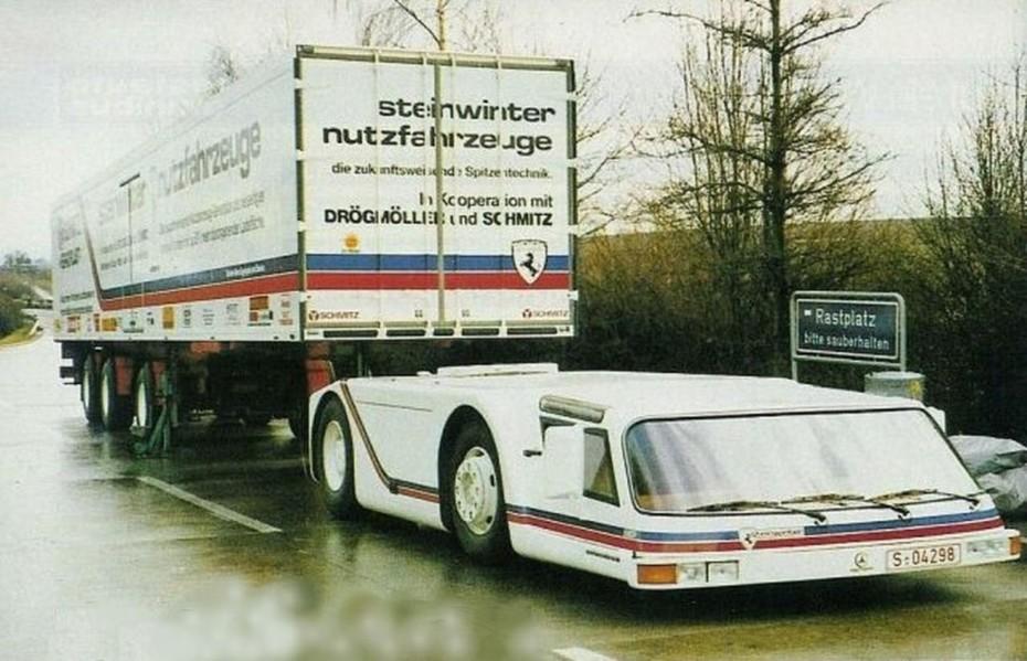 ¿Sabías que en algún momento de la historia estuvimos a punto de que los camiones pasasen a tener esta forma?
