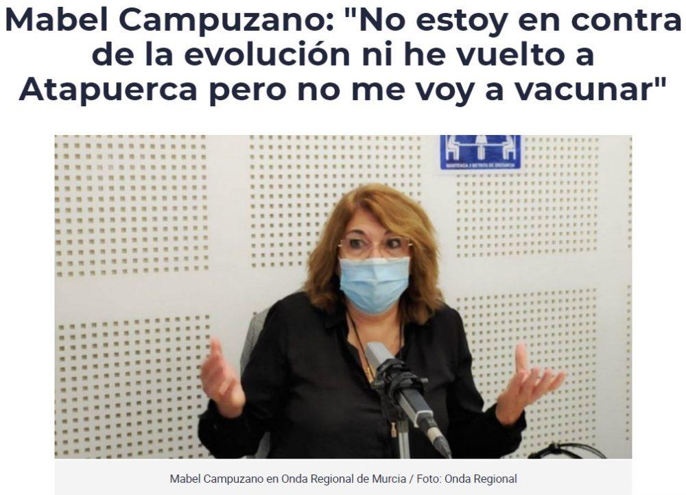 La nueva consejera de Educación y Cultura de la Región de Murcia.