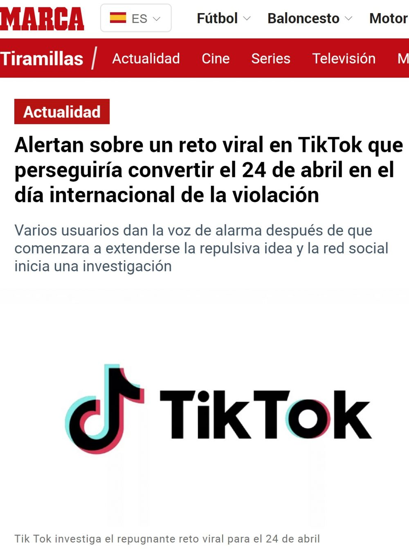 Otra razón para cerrar Tiktok