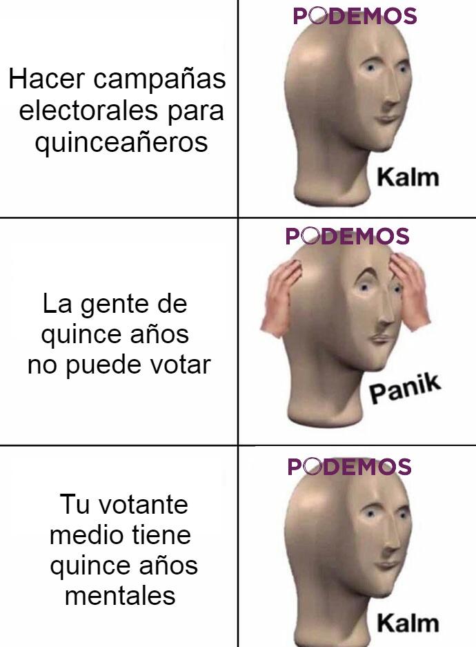 Poco se habla del fichaje de Arévalo por parte de Podemos para hacerles los memes