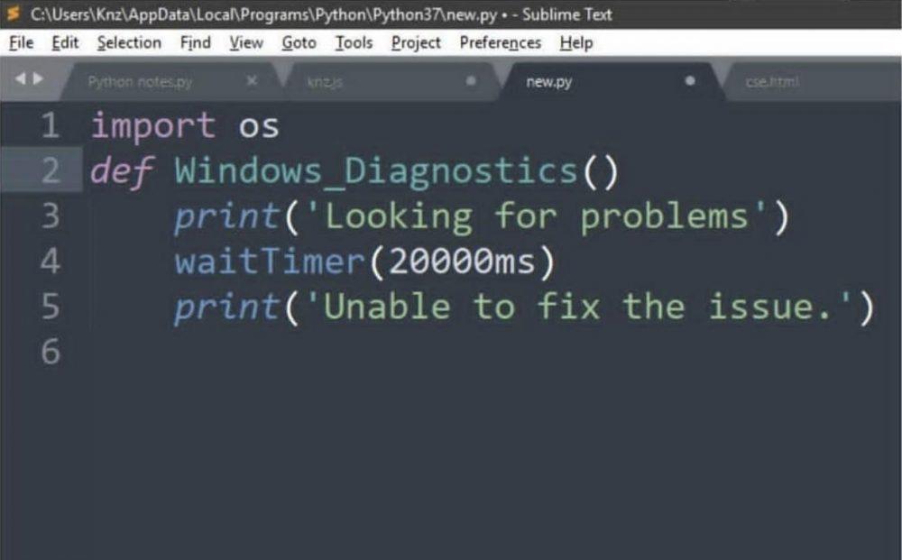 Se ha filtrado el código del solucionador de problemas de Windows