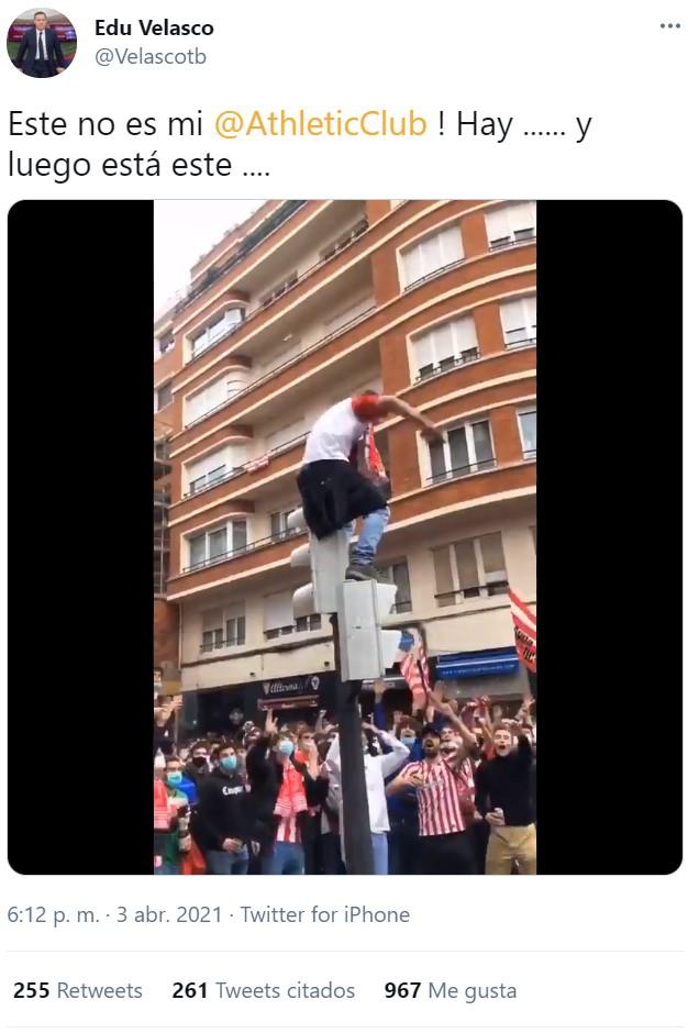 Miles de infiltrados suplantan a aficionados del Athletic para dar mala imagen al club