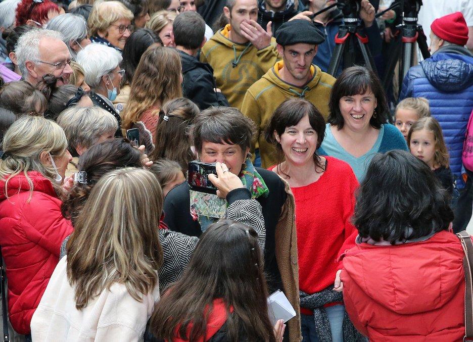 Homenaje hoy a la etarra Lorentxa Beyrie en Cambo-les-Bains tras pasar 20años en prisión.