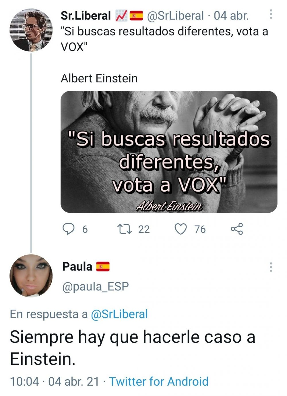 Un fake especialmente desafortunado...
