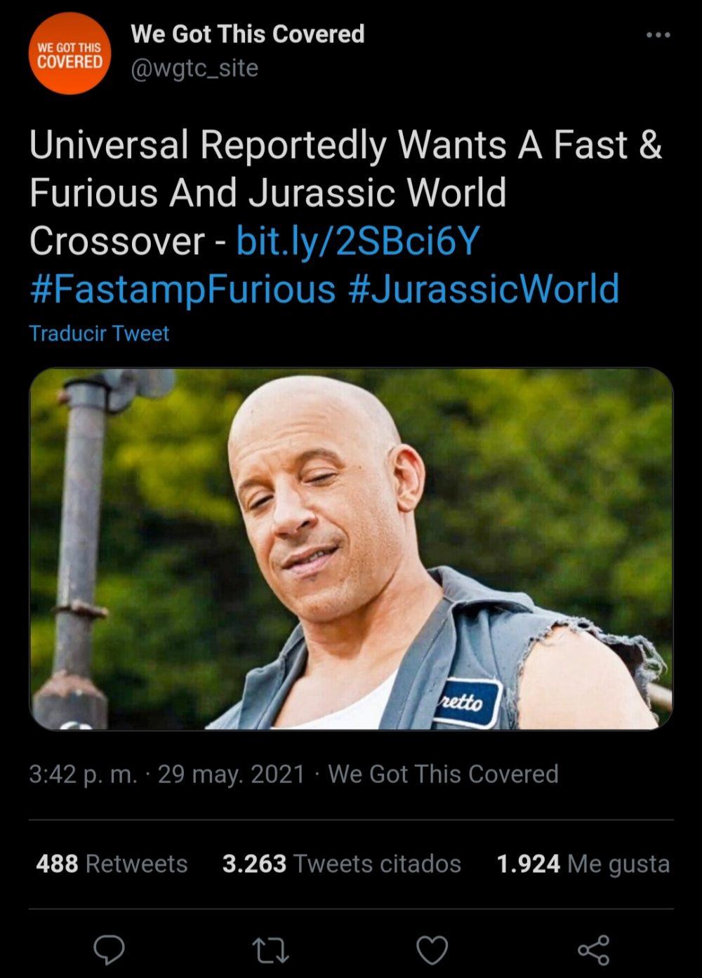 T-Rex to furius