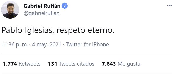 Pablo Iglesias se despide y deja todos sus cargos