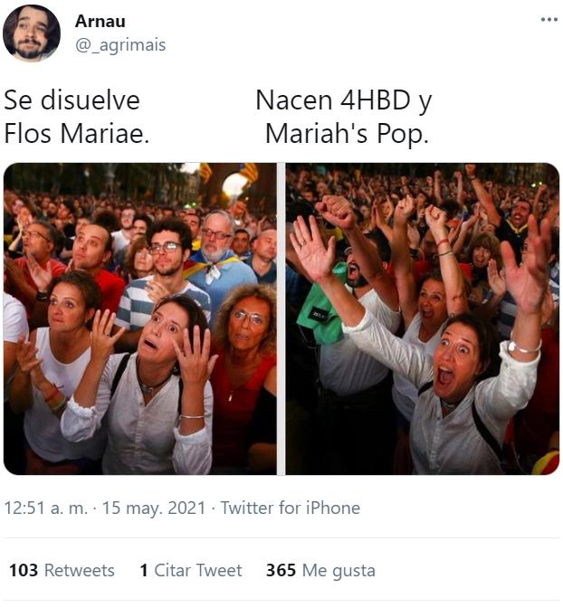Se disuelve Flos Mariae, pero... NACE MARIAH'S POP!