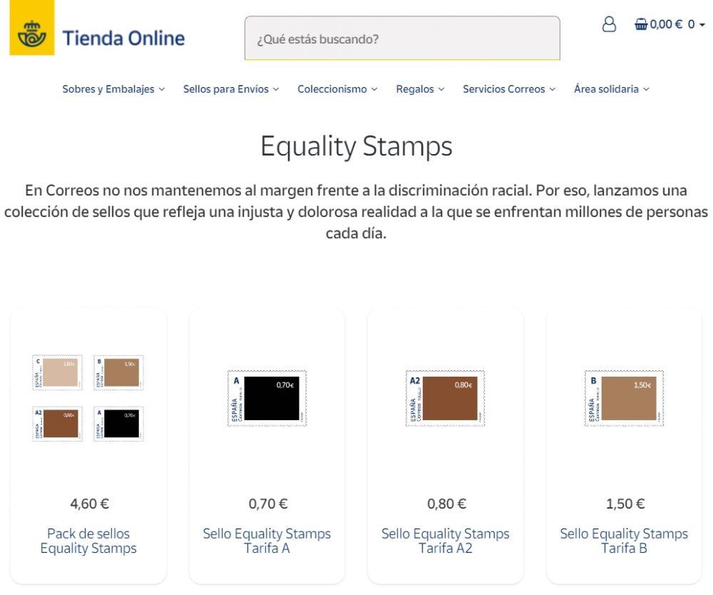 Equality Stamps: los sellos de correos comprometidos con la discriminación racial