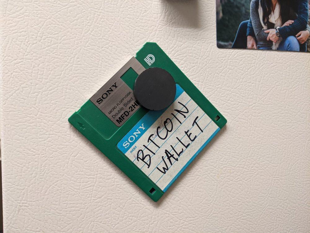 """""""Mijo te he dejado el disquete en la nevera para que no lo pierdas"""""""