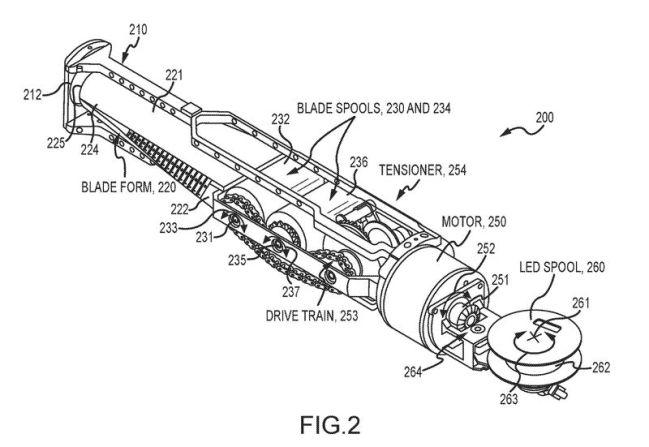 Ojo que Disney acaba de patentar el primer sable láser retráctil de una pieza.
