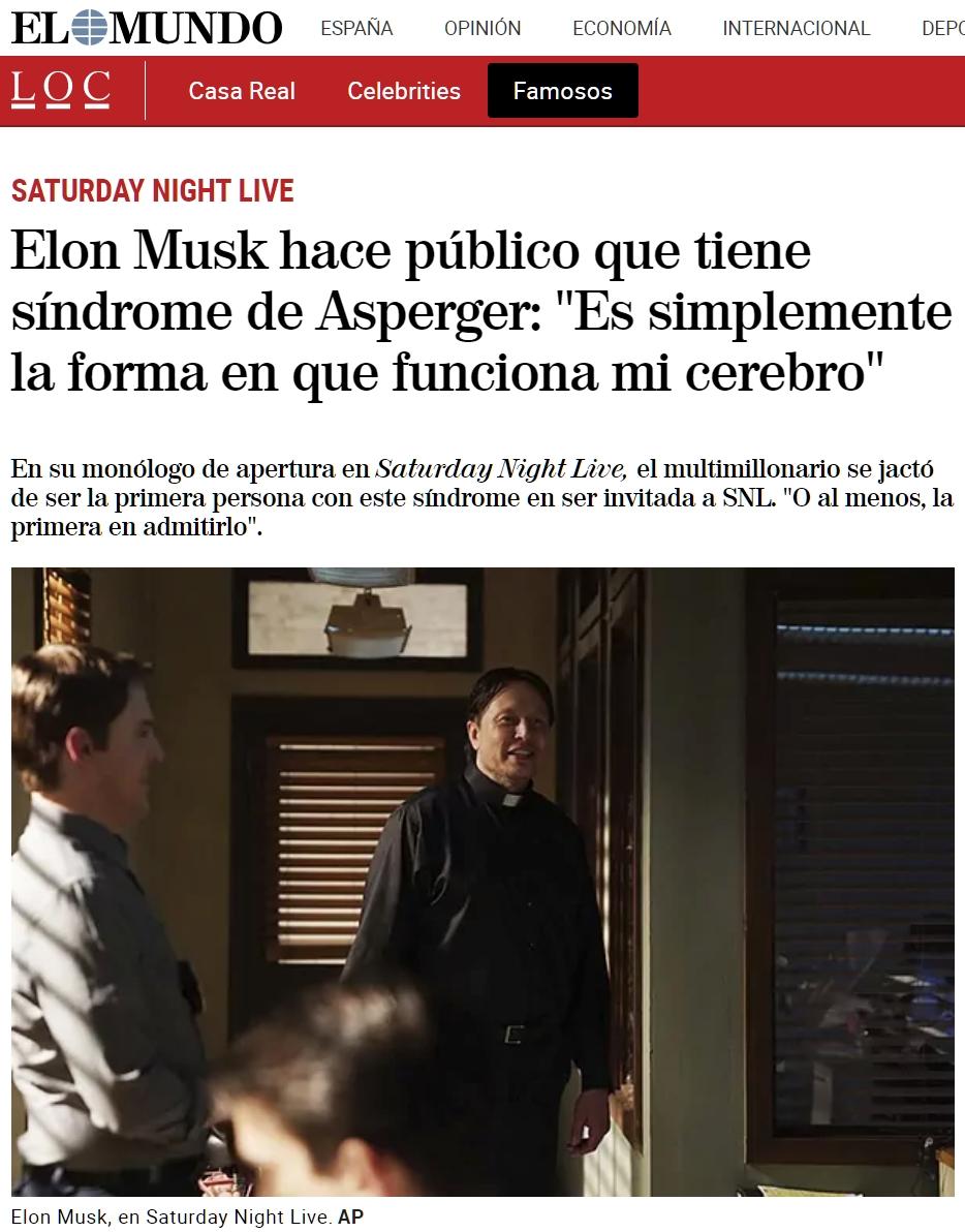 El hombre más rico del mundo es... autista