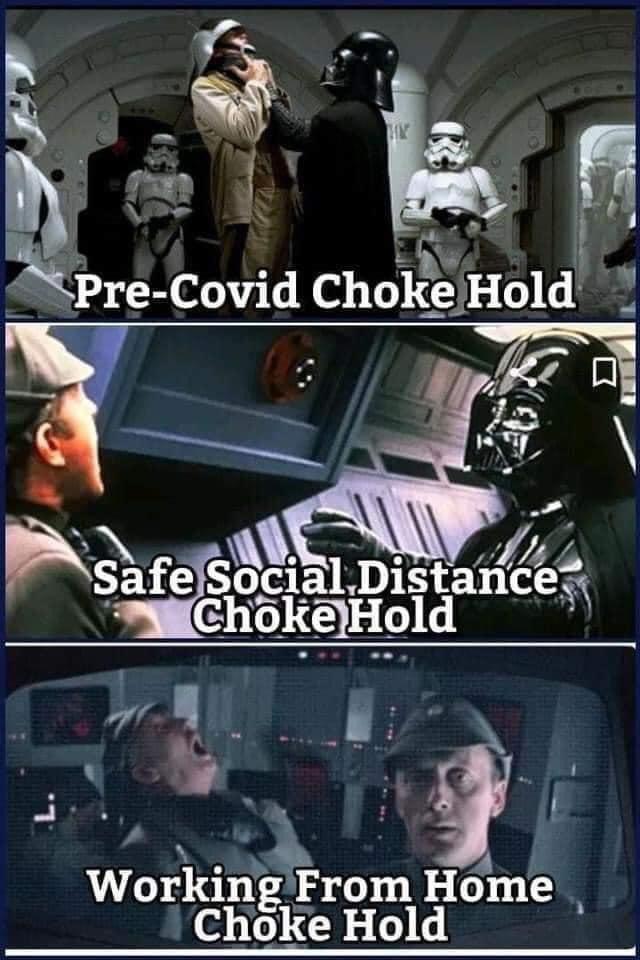 Darth Vader nos enseña las etapas de la pandemia