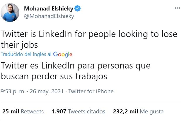 Twitter es LinkedOUT