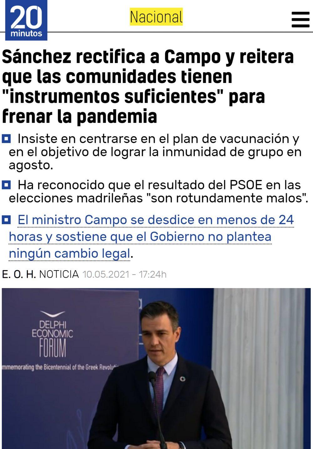 Que dice PDRO que eso de que el juez Garrido ha tirado todas las restricciones para atrás nos lo estamos imaginando