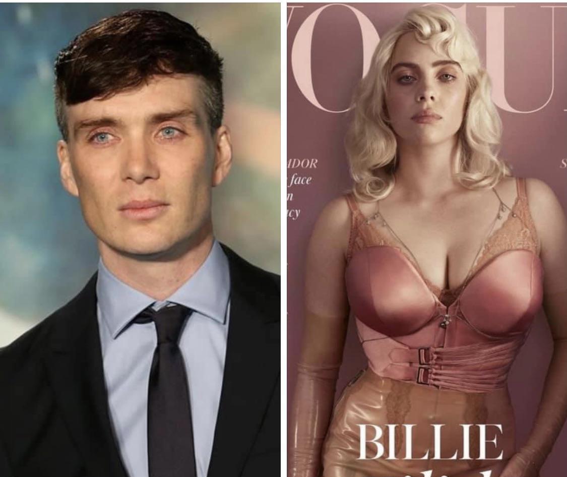 Billie Eilish es simplemente Cillian Murphy con una peluca rubia