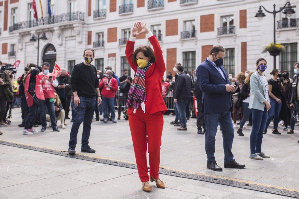 Carmen Calvo pide chops