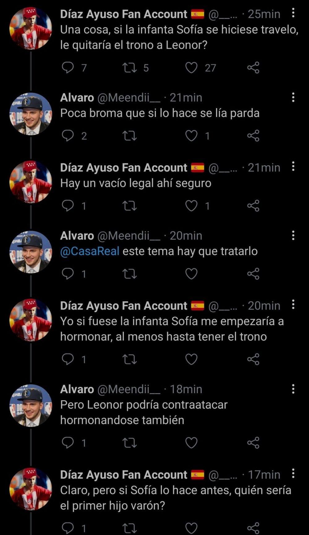 Hackeando la corona de España