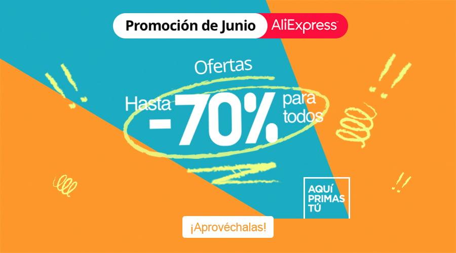 Segundo día de ofertas en Aliexpress