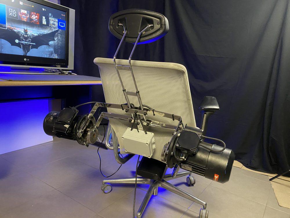 La silla gaming con TURBOVIBRACIÓN