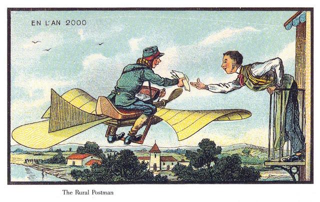Así imaginaban el futuro los franceses en el año 1899