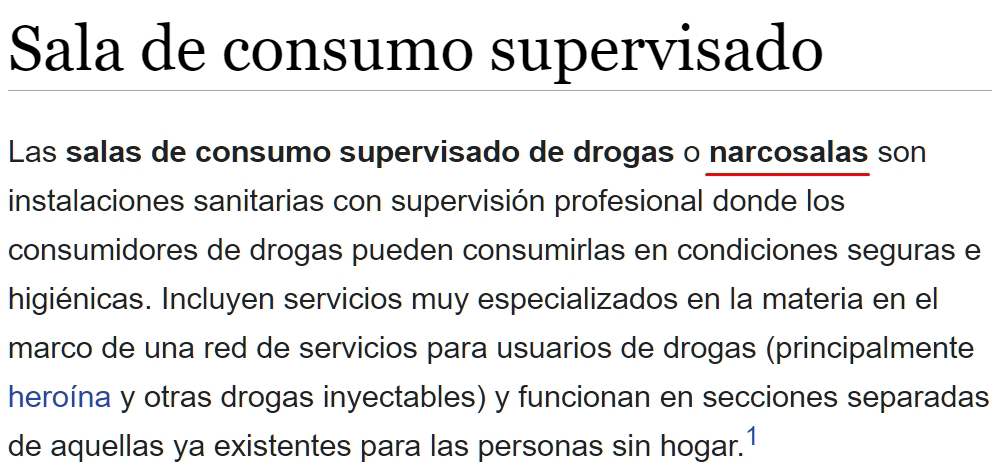 """""""Narcosala"""""""