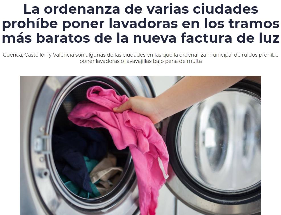 Se abre un nuevo nicho de mercado para los silenciadores para lavadoras
