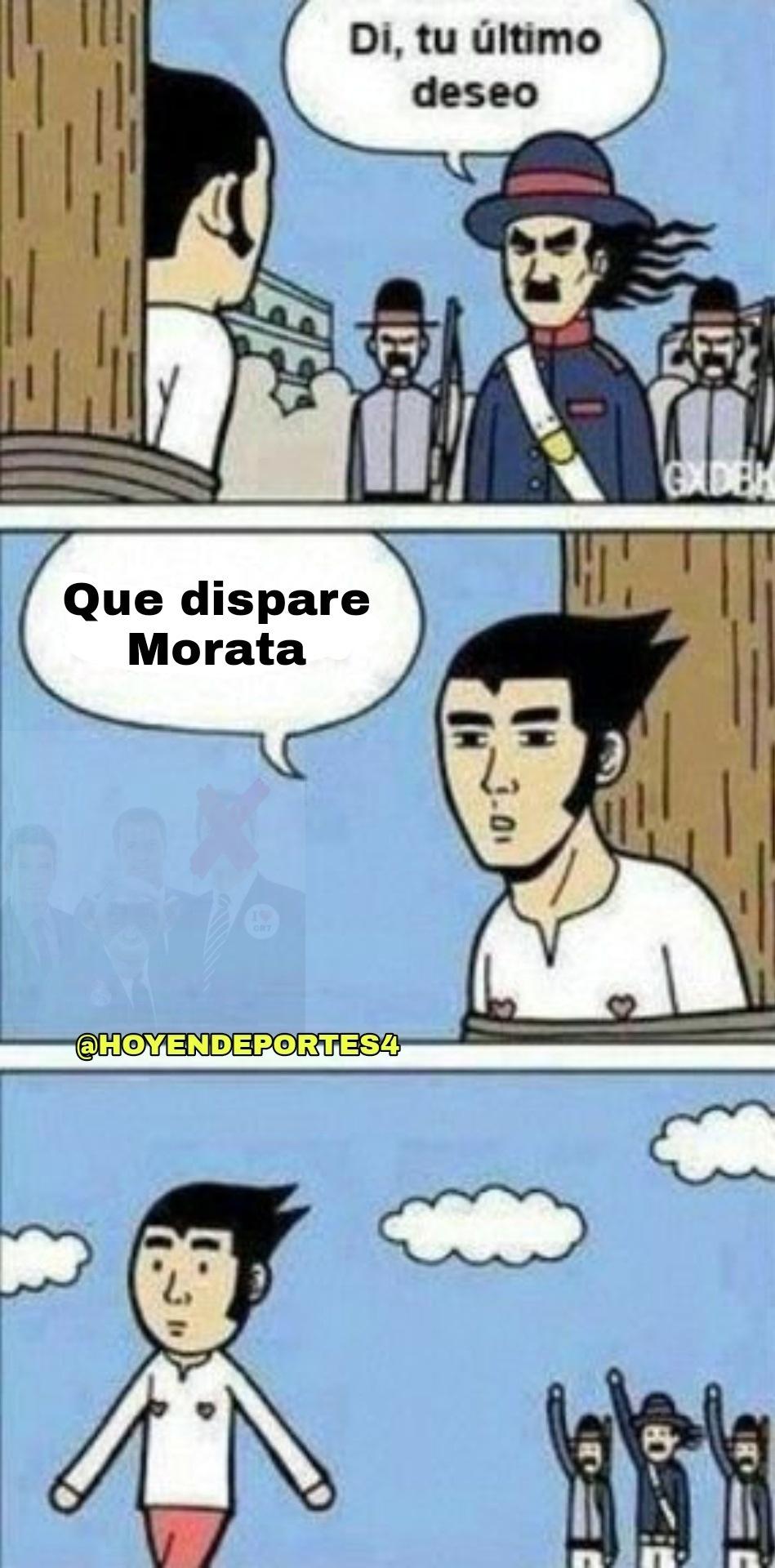 Se va Morata -> GOL
