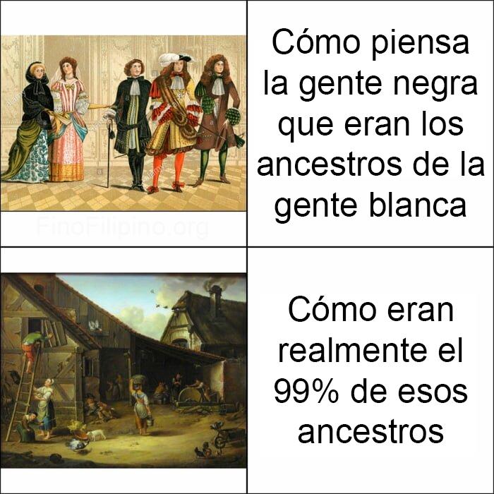 Malditos colonos... ¡arrodillaos!