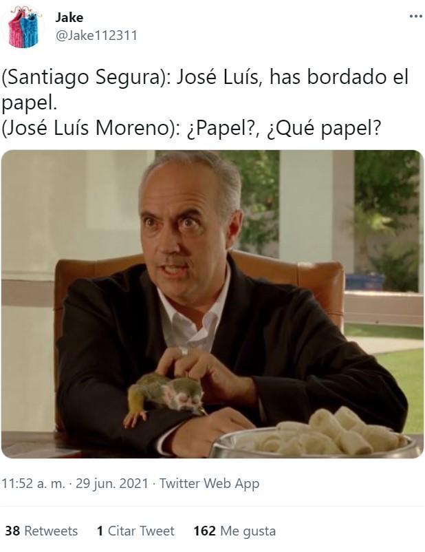 Pues ya podemos imaginar por qué le metieron aquella paliza infernal a Jose Luis Moreno...