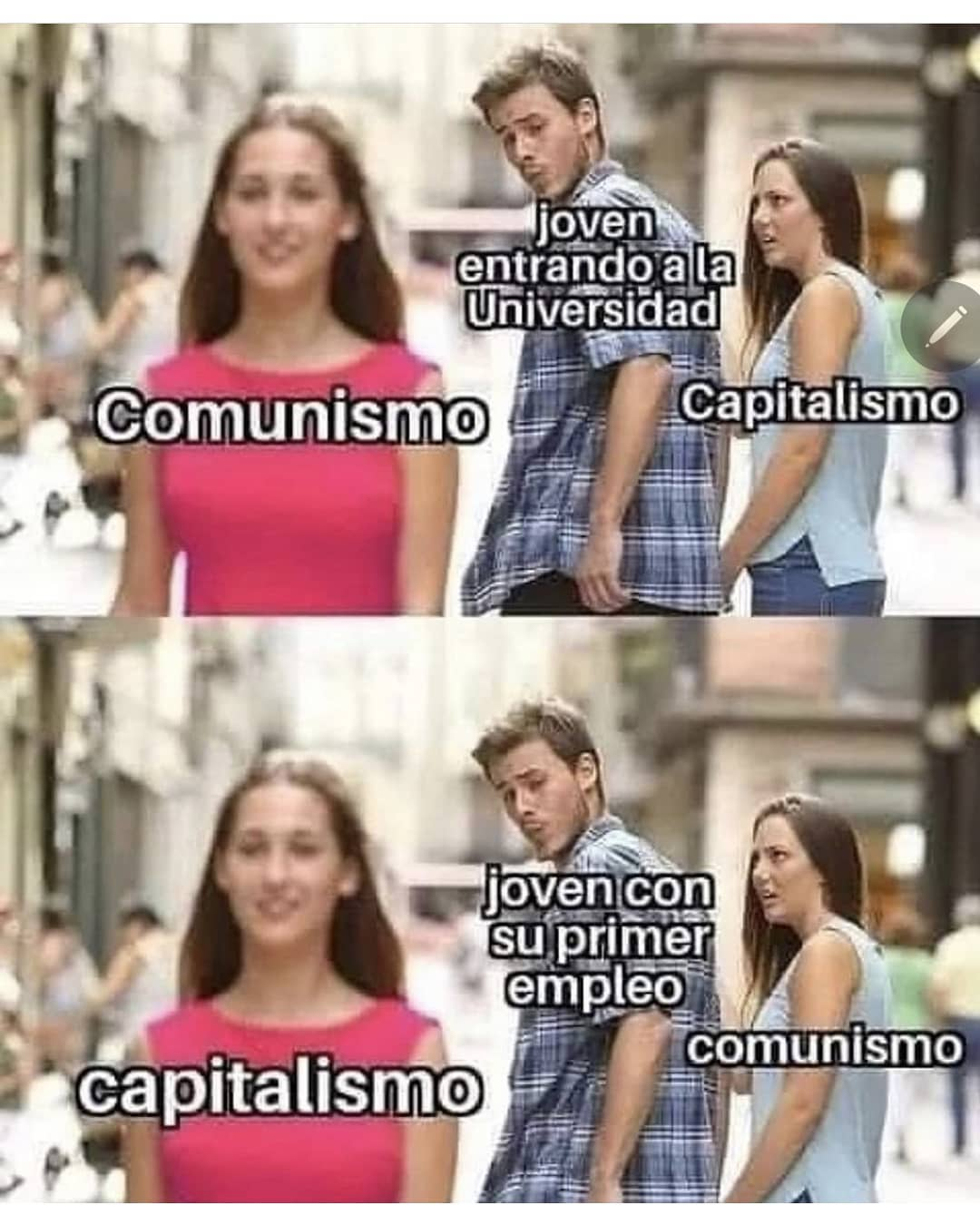 El comunismo se cura creciendo