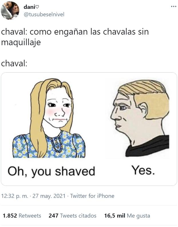 El maquillaje de los hombres