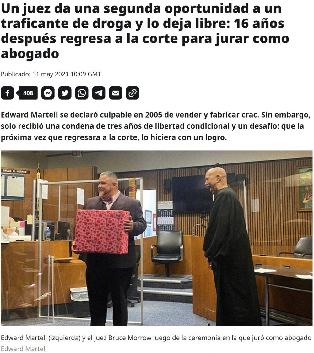 El Juez Calatayud versión yanki