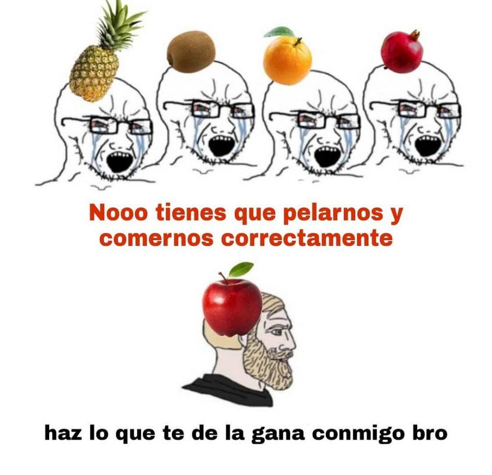La fruta menos pija