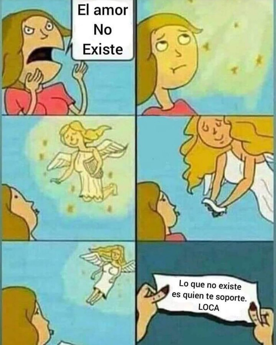 EL AMOR NO EXISTE