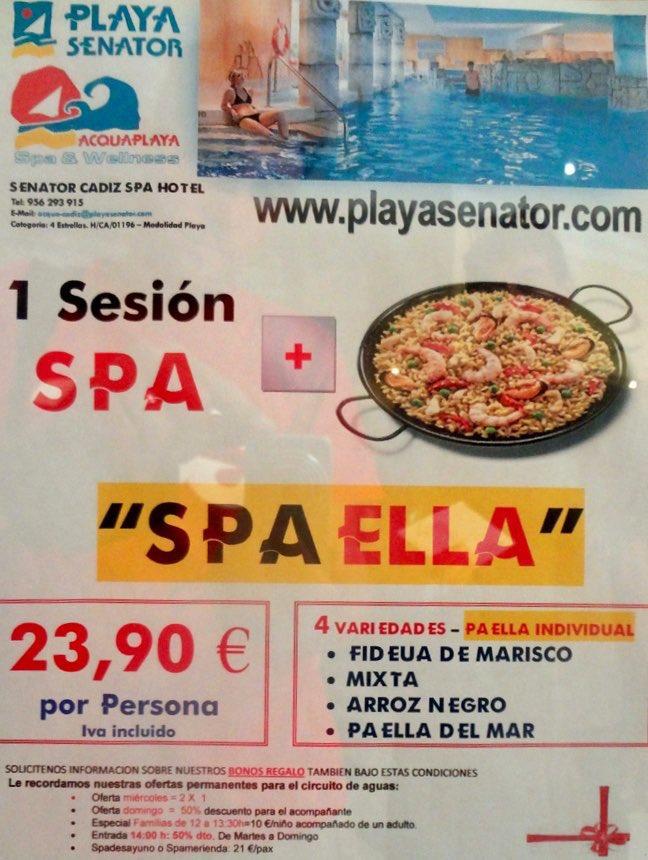 Sesión SPA + Paella = SPA-ELLA