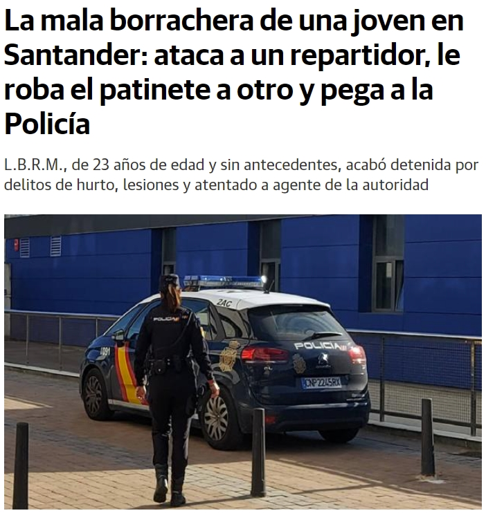 Resacón en Santander