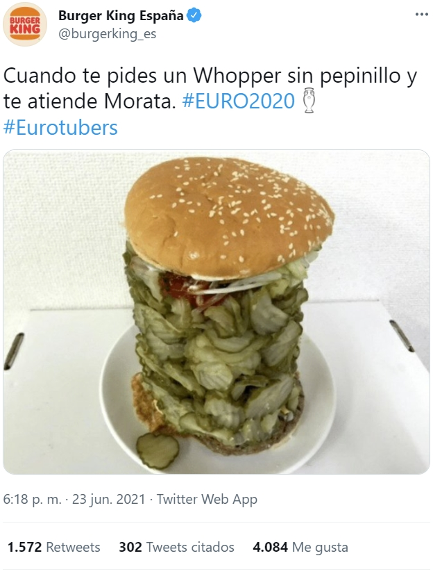 Morata ya es oficialmente un meme