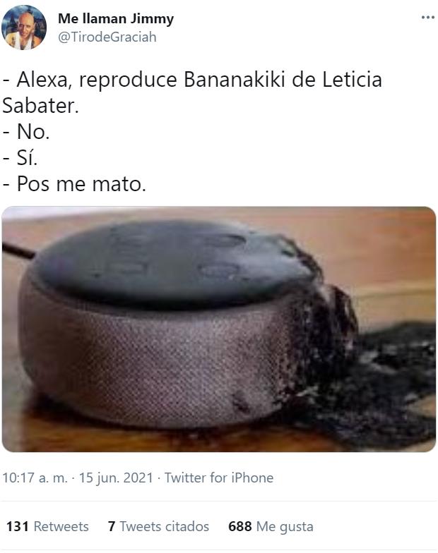 Llega con retraso pero ya está aquí: BANANAKIKI - Leticia Sabater