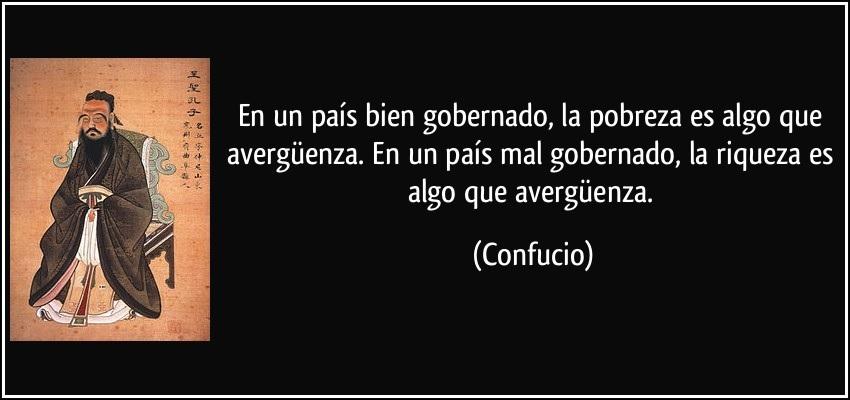 Confucio, inventor de la confución