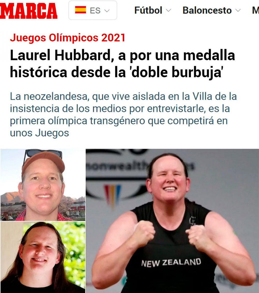 Primera deportista trans en los Juegos Olímpicos