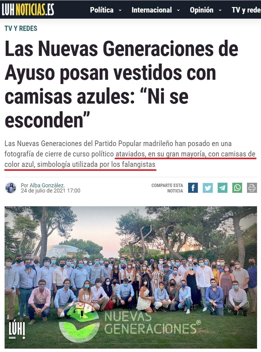 Menos mal que Podemos creó una web de noticias objetiva en la que confi...
