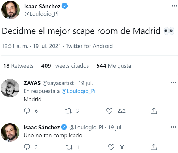 La mejor escape room de Madrid