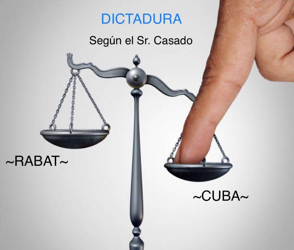 «Casado contra Casado». Periodista hace sudar al líder del PP tras criticar a Cuba y no a Marruecos