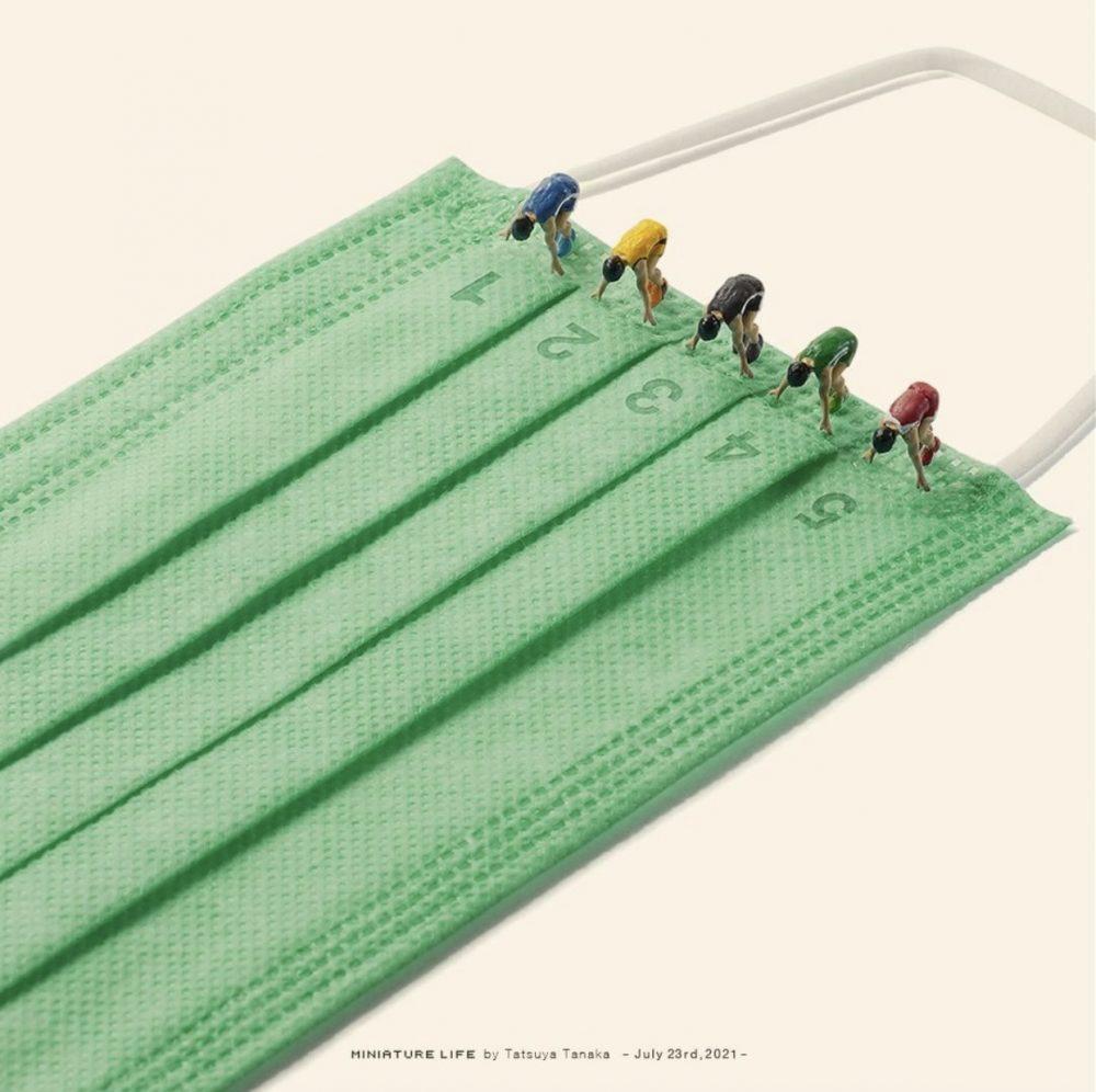Mask Olimpics by Tanaka Tatsuya