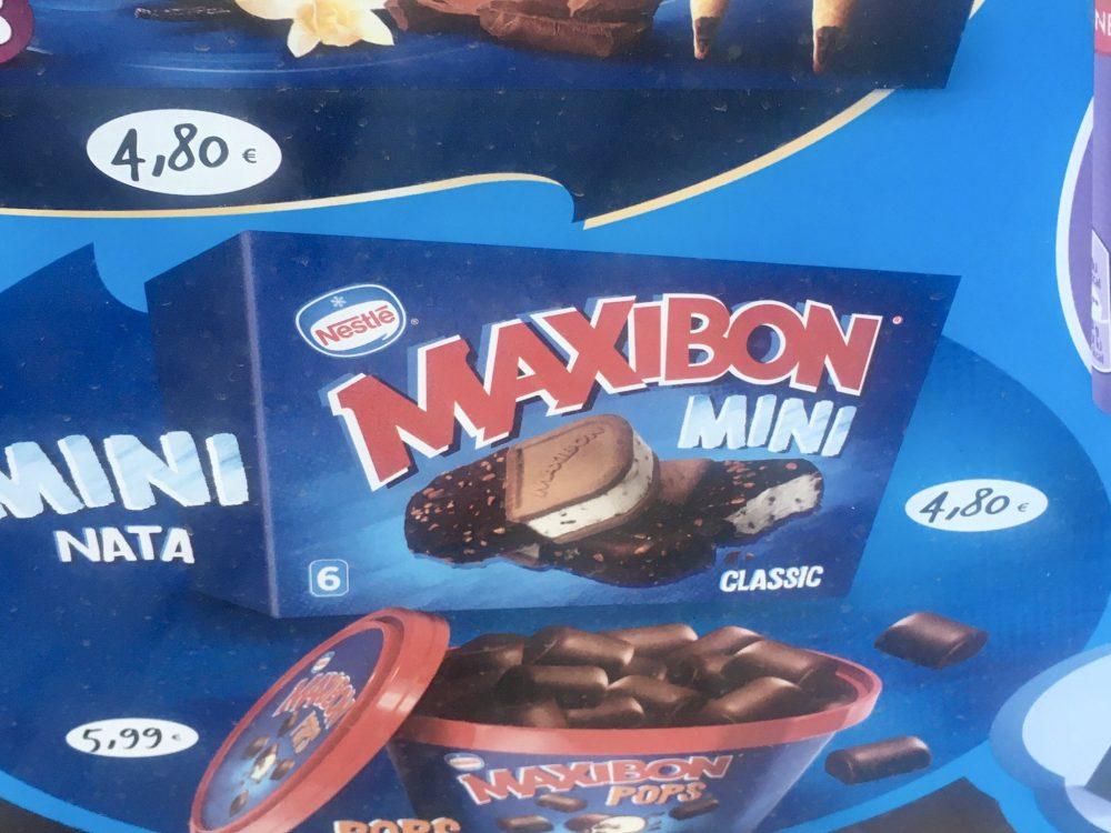 Que se llame Maxibon Mini en lugar de Minibon me parece casi insultante.