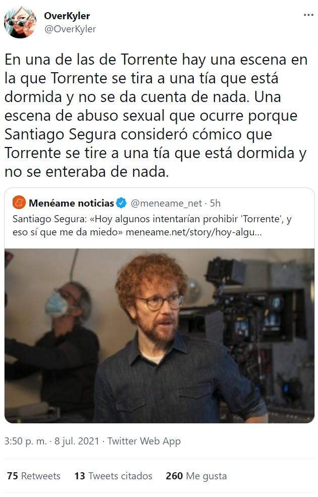 ¿Se podría estrenar Torrente a día de hoy?